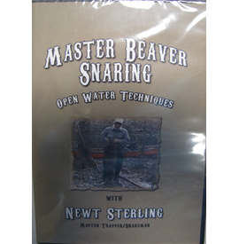 Master Beaver Snaring DVD - ON CLEARANCE