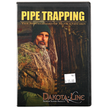 PIPE TRAPPING - THE MOTHERLOAD OF MINK & COON