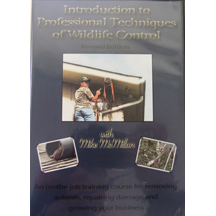 Intro To Professional Techniques Of Wildlife Control  ON CLEARANCE