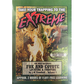 Fox & Coyote Locating & Trapping Vol. 1