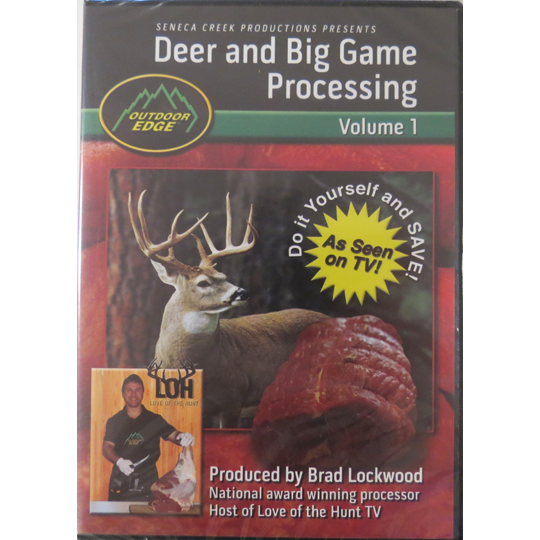 DEER & BIG GAME PROCESSING 101 CURRENTLY OUT OF STOCK