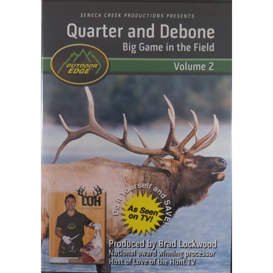 Quarter & Debone Big Game In The Field