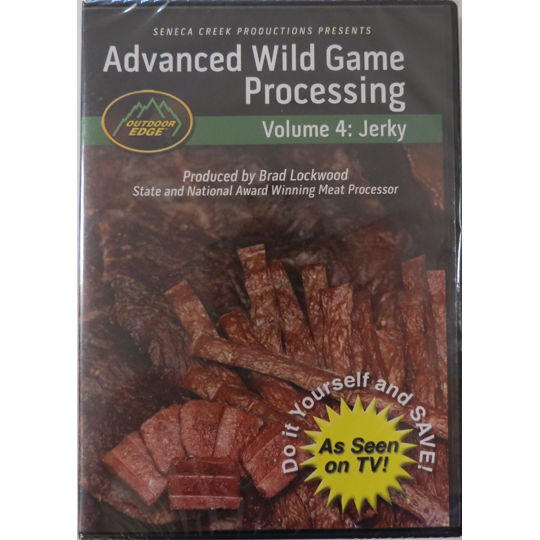 Advanced Wild Game Processing: Jerky - ON CLEARANCE