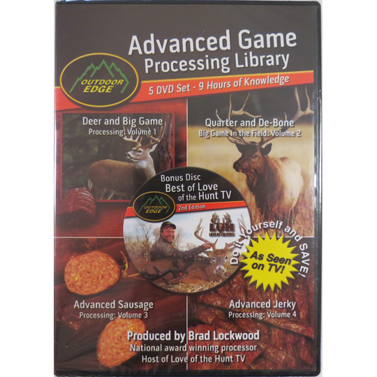 Advanced Game Processing Library: 5 Disc Set - ON CLEARANCE