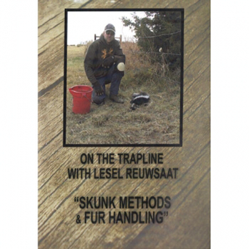 On The Trapline: Skunk Methods & Fur Handling