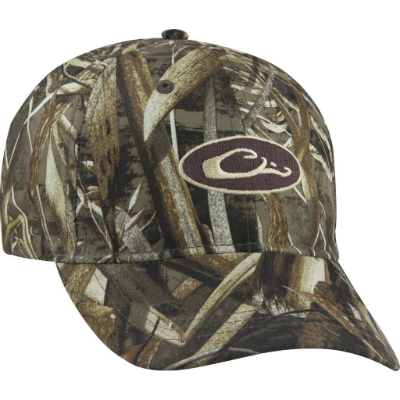 Drake Waterproof Camo Cap - Realtree Max-5