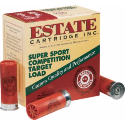 Estate Super Sport Competition Target Load 20 Ga 2 3/4