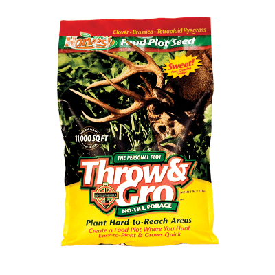 Evolved Harvest Throw & Gro No-Till Forage®