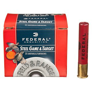 Federal Field & Range Steel Shotshell 410 GA 3