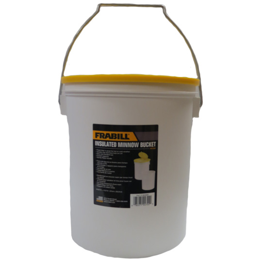 FRABILL 8 QUART INSULATED MINNOW BUCKET - OUT OF STOCK