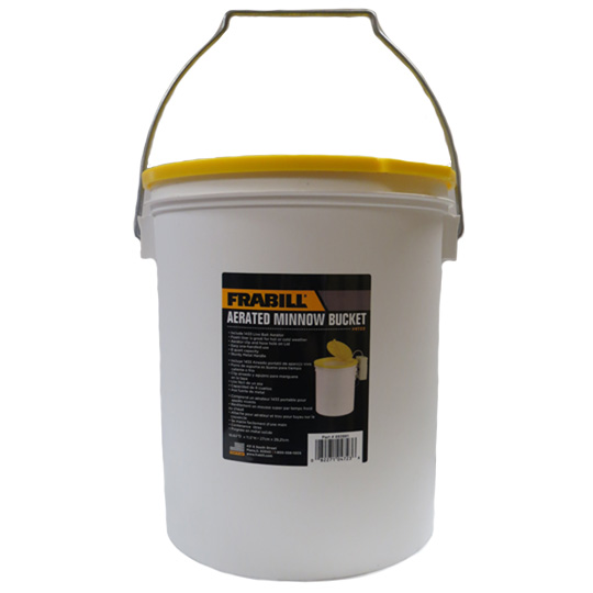 Frabill® 8 Qt Aerated Minnow Bucket