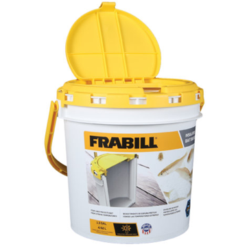 Frabill Insulated Bait Bucket - 1.3 Gallons