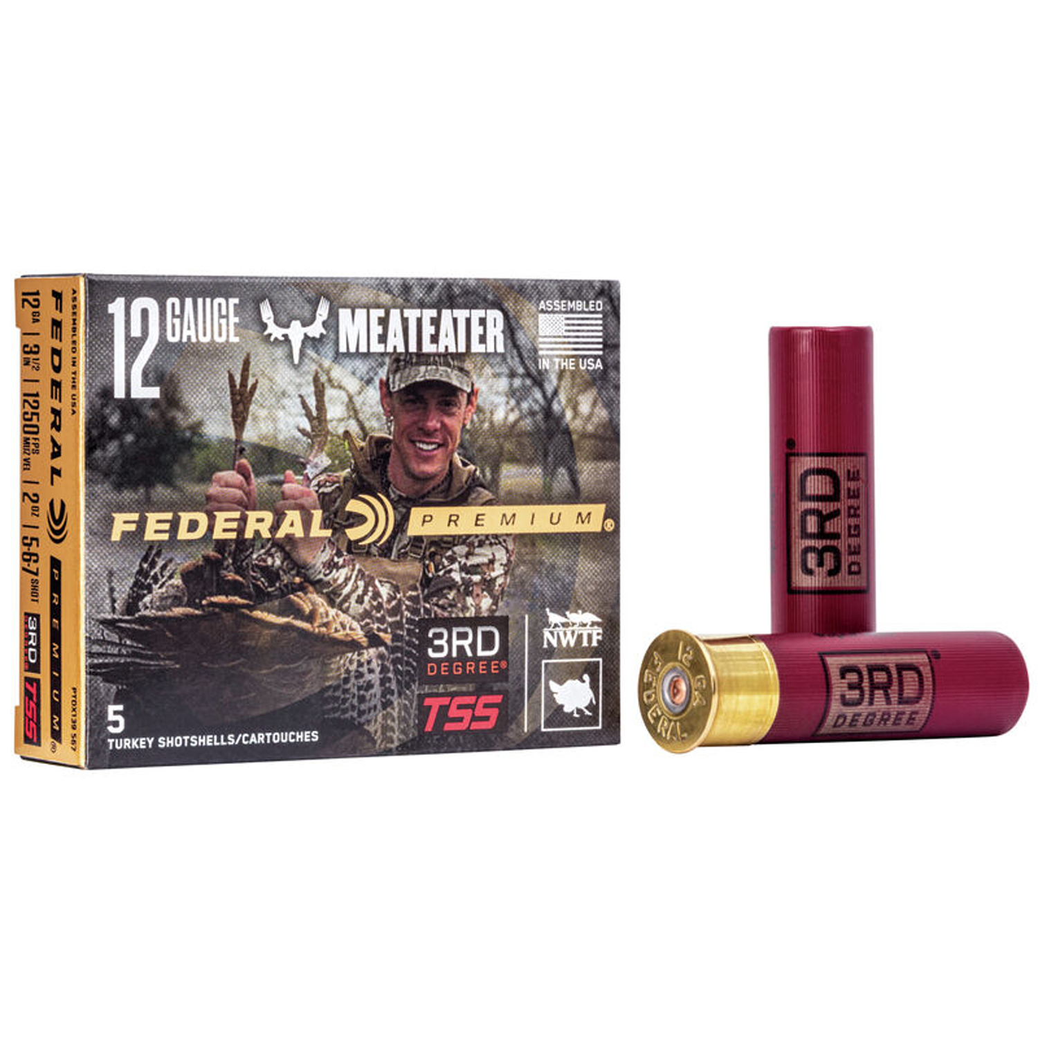 Federal 3rd Degree Turkey Load 12 ga 3 1/2