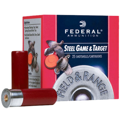 Federal Steel Game & Target 12 Ga 2 3/4