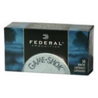 Federal® Game-Shok .22 LR 40 GR Copper Plated Solid