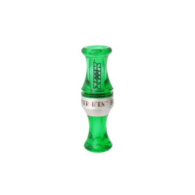 Zink Power Hen PH-2 Polycarbonate Duck Call - Interferece Green