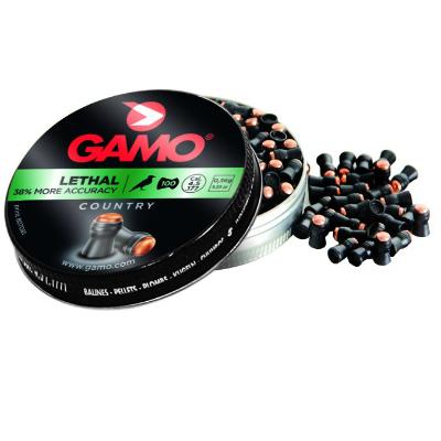 38/% 100Pz Polímero Cal 4.5 .177 Cabeza Ronda Aire Piombini Gamo Lethal
