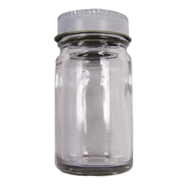 1 oz. Glass Bait Jar with Cap