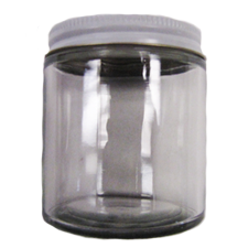4 oz. Glass Bait Jar with Cap