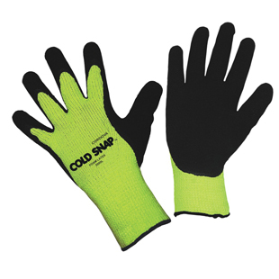 COLD SNAP GLOVES - GREEN