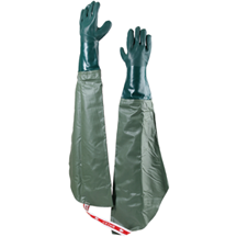 Insulated Full Length Gauntlet Glove With Strap