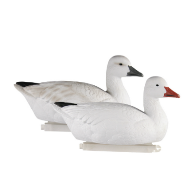 Greenhead Gear Pro-Grade Full Body Snow Goose Floater Decoys 4 Pack