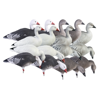 Greenhead Gear Full Body Snow/Blue Harvesters 12 Pack