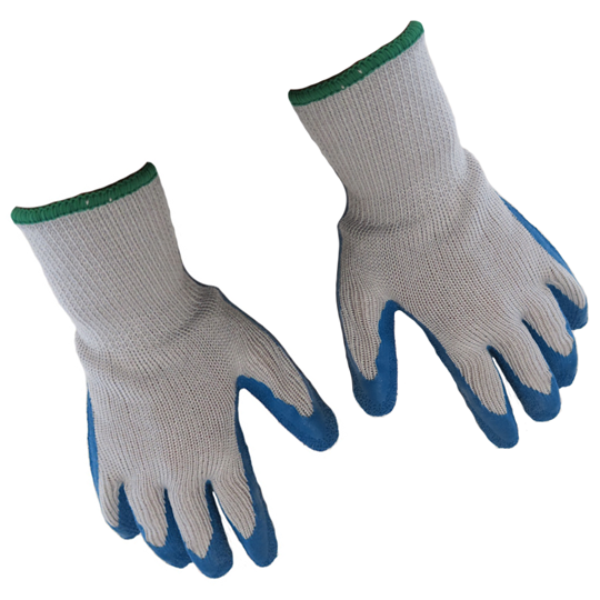 KNIT GRIPPER GLOVES WITH COATED PALM