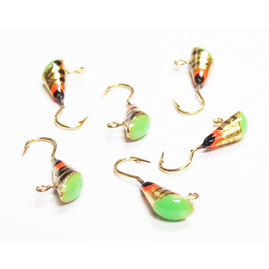 Gold Shad Dart Pack - Size 10