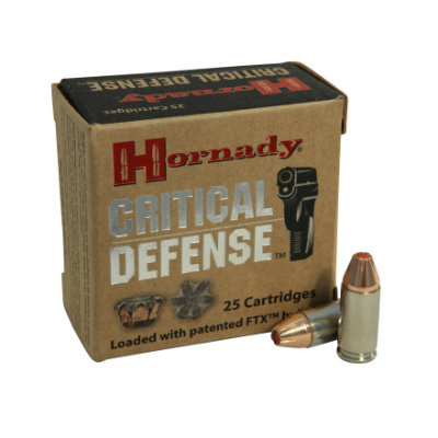 Hornady Critical Defense .45 Colt 185 Gr FTX