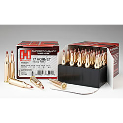 Hornady Superformance .17 Hornet 15.5 Gr NTX®