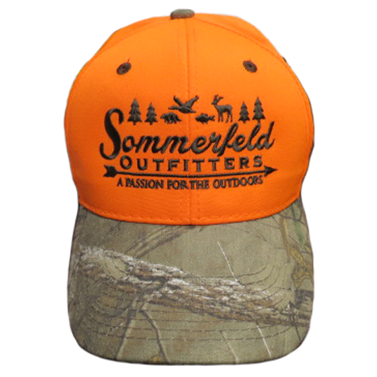 Sommerfeld Outfitters Blaze Orange Hat