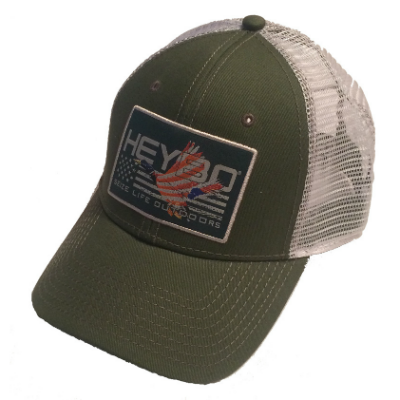 HEYBO® Patriotic Duck Patch Hat