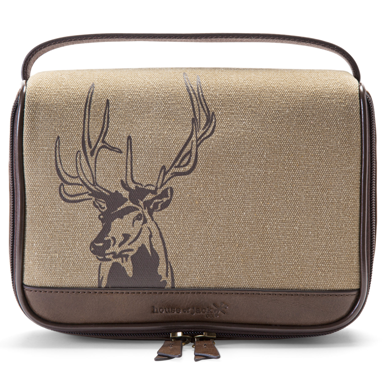Deer Zip Around Travel Kit