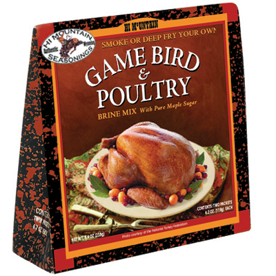 Hi Mountain Game Bird & Poultry Brine - OUT OF STOCK