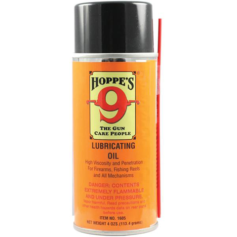Hoppe's Aerosol Lubricating Oil - 4 oz OUT OF STOCK