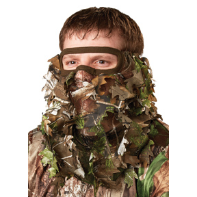 H.S. 3/4 LEAFY FACE MASK