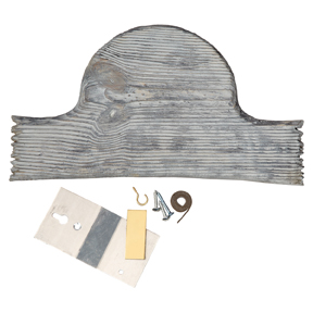 H.S. Strut® Old Barn Turkey Plaque Mounting Kit