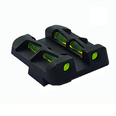 HI-VIZ GLOCK LITEWAVE INTERCHANGABLE REAR SIGHT