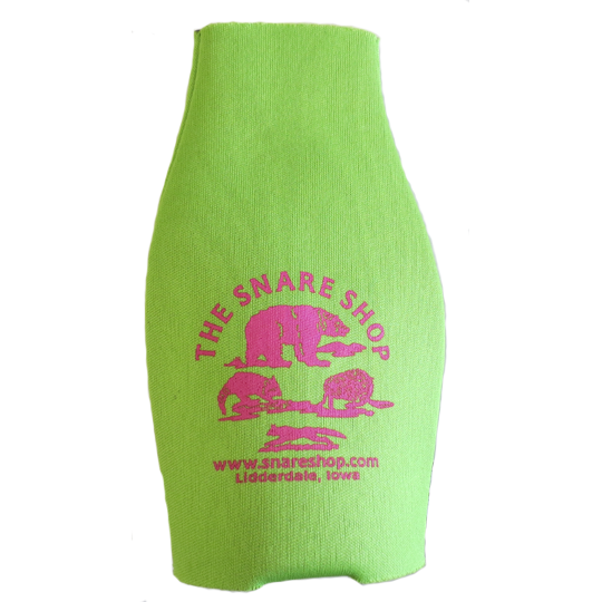THE SNARE SHOP ZIP UP BOTTLE KOOZIE