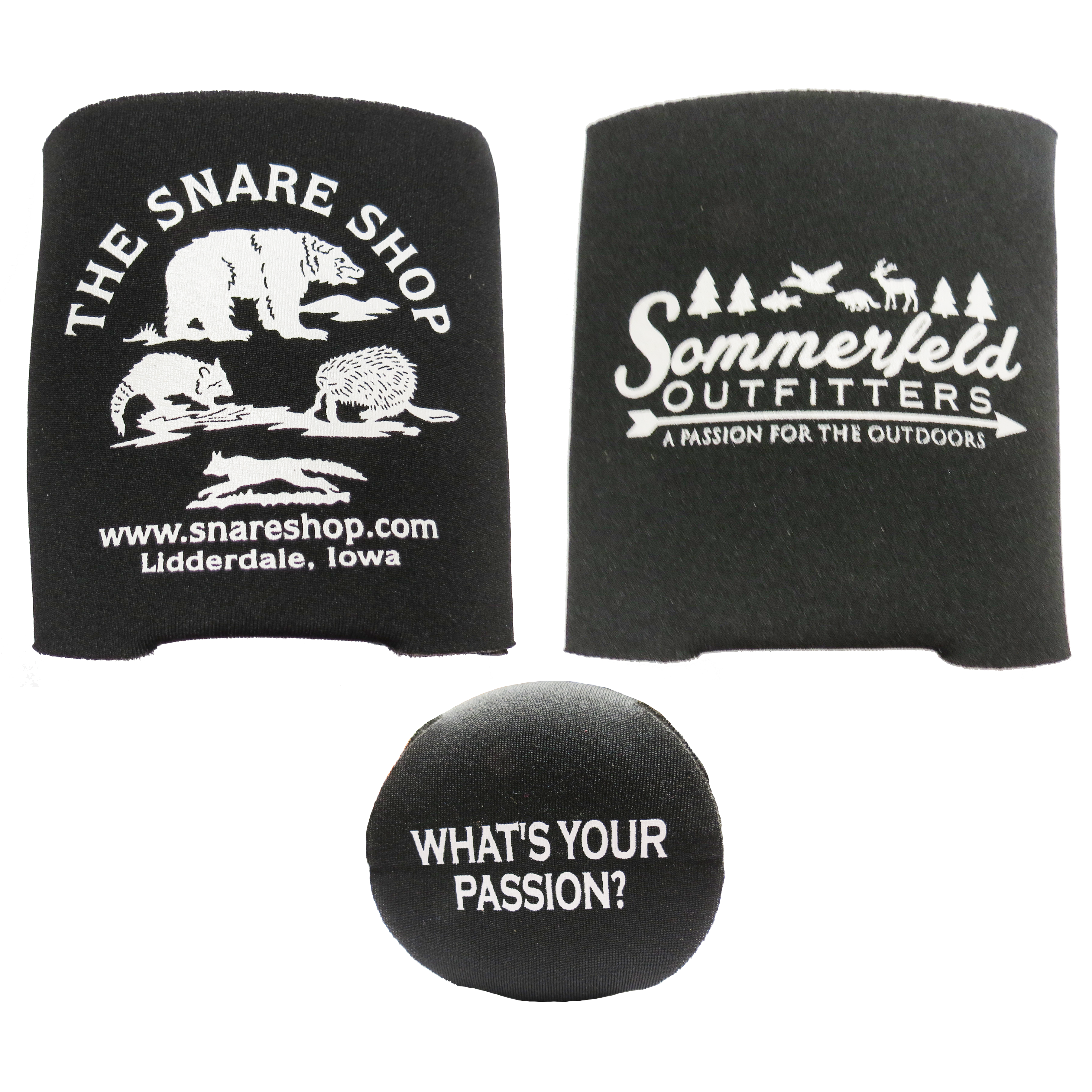 Sommerfeld Outfitters/Snare Shop Koozies - Assorted Colors