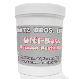 Kaatz Bros Lures Ulti-Boss Raccoon Paste Bait