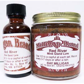 Milligan Brand Red River Mink Gland