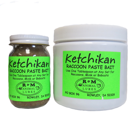 R & M Ketchikan Raccoon Paste Bait