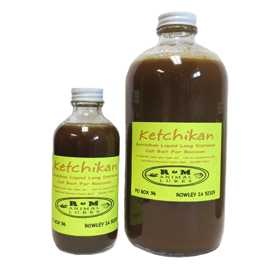 R & M Liquid Ketchikan Raccoon Bait