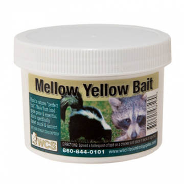 WILDLIFE CONTROL SUPPLIES MELLOW YELLOW BAIT