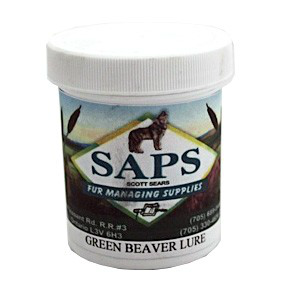 SAPS GREEN BEAVER LURE