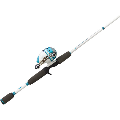 Lew's Lady Angler 6' Medium 2 Pc Spincast Combo