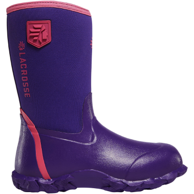 Lacrosse Lil' Alpha Lite Youth Boot - Purple DISCONTINUED