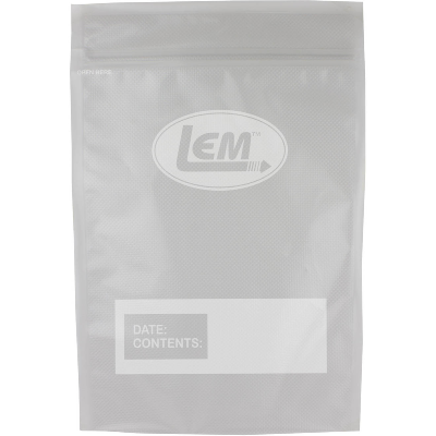 LEM MaxVac Zipper Top Vacuum Bags - Gallon Size